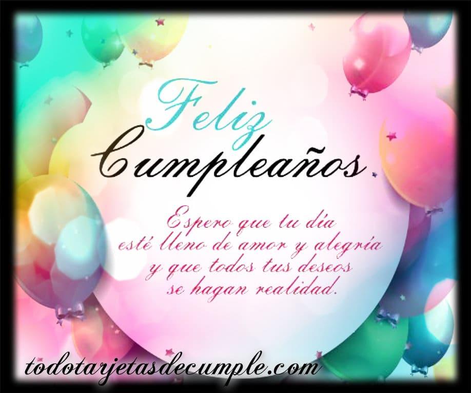 Tarjetas De Cumpleaños Con Frases Para Cualquier Ocasión