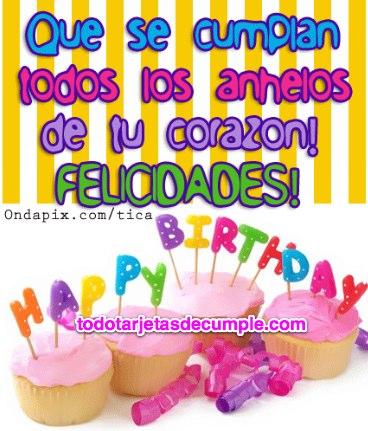 imágenes de felicidades en tu cumpleaños